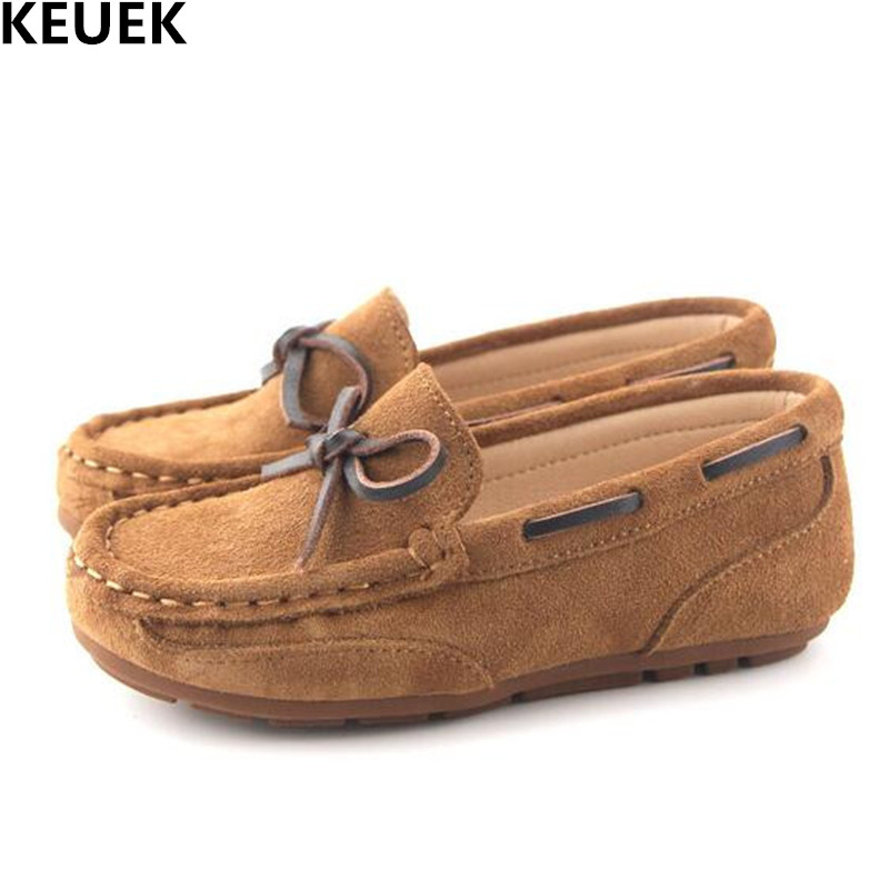 New Children Genuine Leather Shoes Boys Girls Casual Loafers Baby Breathable Flats Princess Shoes Kids Moccasins Toddler 018 new fashion genuine leather children shoes boys girls casual brogue shoes baby breathable flats kids oxford shoes sneakers 03