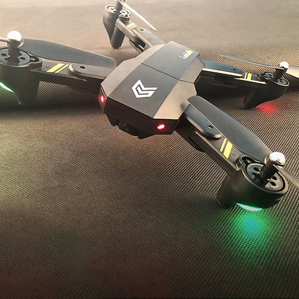 Phoota Foldable Headless Mode Quadcopter 2.4GHz 4 Axis gyro fixed high folding FPV Drone Aircraft Helicopter No camera Gift