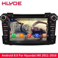 KLYDE 4GB RAM Octa Core 32GB ROM Android 8.0 7.1 4G WIFI DAB RDS Car DVD Multimedia Player Radio For Hyundai I40 2011 2015 2016
