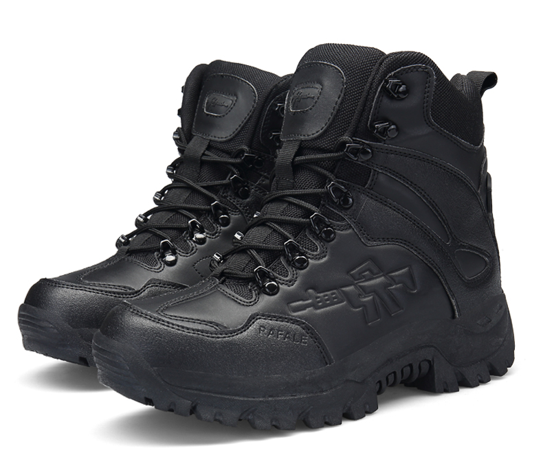 Brand Men's Boots Military boot Chukka Ankle Bot Tactical Big Size Army Male Shoes Safety Combat Mens Motocycle Boots (13)