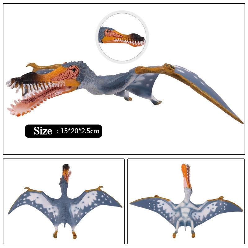 Figuras de Acción y Juguete Jurásico Anhanguera Dragón Dinosaurio - Figuritas de juguete - foto 3