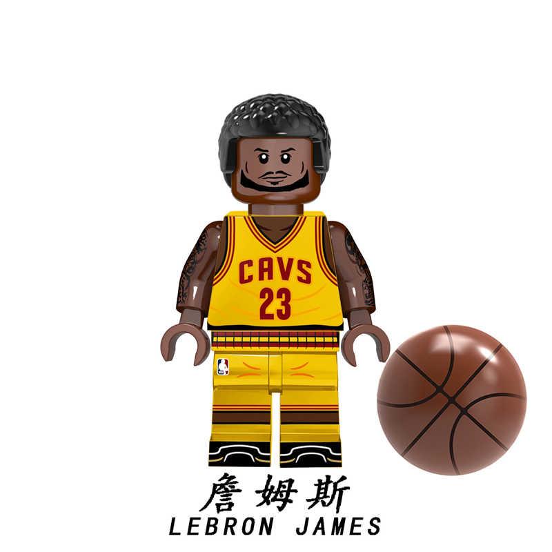 バスケットボールスーパースターカレージェームズ神戸 Wade オニールウェストブルックヨルダン-Mac ビルディングブロックレンガのおもちゃ KT1021