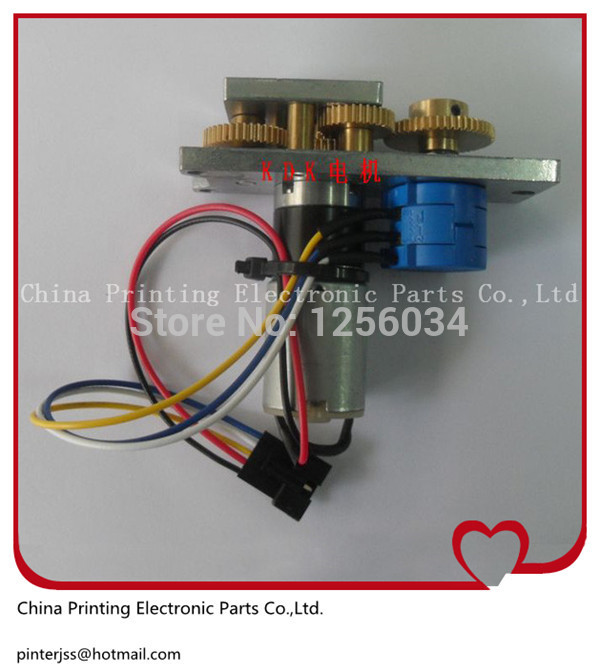 5 pieces FIN-4062-00H spare parts ink key motor for Komori machine