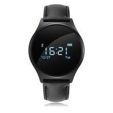 La presión arterial inteligente pulsera smartband deportes muñequera heart rate monitor de fitness bluetooth 4.0 para ios andriod huawei b3 +