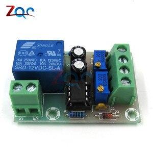 Image 4 - XH M601 tablica kontrolna do ładowania baterii 12V inteligentna ładowarka zasilania sterowania panel modułu automatyczne ładowanie/Stop mocy