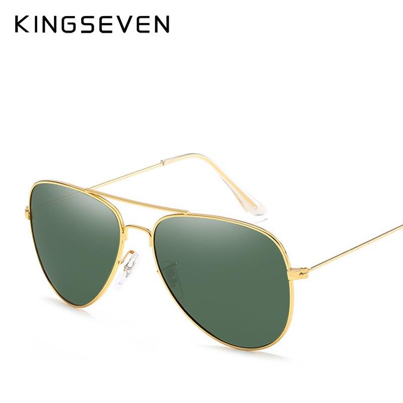 58mm retro klassische sonnenbrille polarisierte frauen kingseven - Bekleidungszubehör - Foto 2
