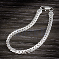 Charm Hand Chain Man Bracelet Fashion Jewelry Sideways Male JW2727