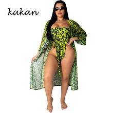 Kakan summer new womens triangle jumpsuit fashion print bohemian beach