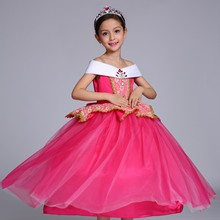 New Girls Sweet Dress Halloween Christmas Costume Childrens Day Girl Princess Ball Gown
