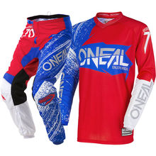 2018 Elemento Mens Burnout Jersey Calças MX Dirt Bike ATV MTB Motocross Gear Set
