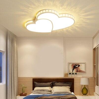 Nowe nowoczesne żyrandole ledowe kształt serca do salonu sypialnia jadalnia ściemnianie oprawa żyrandol lampa sufitowa