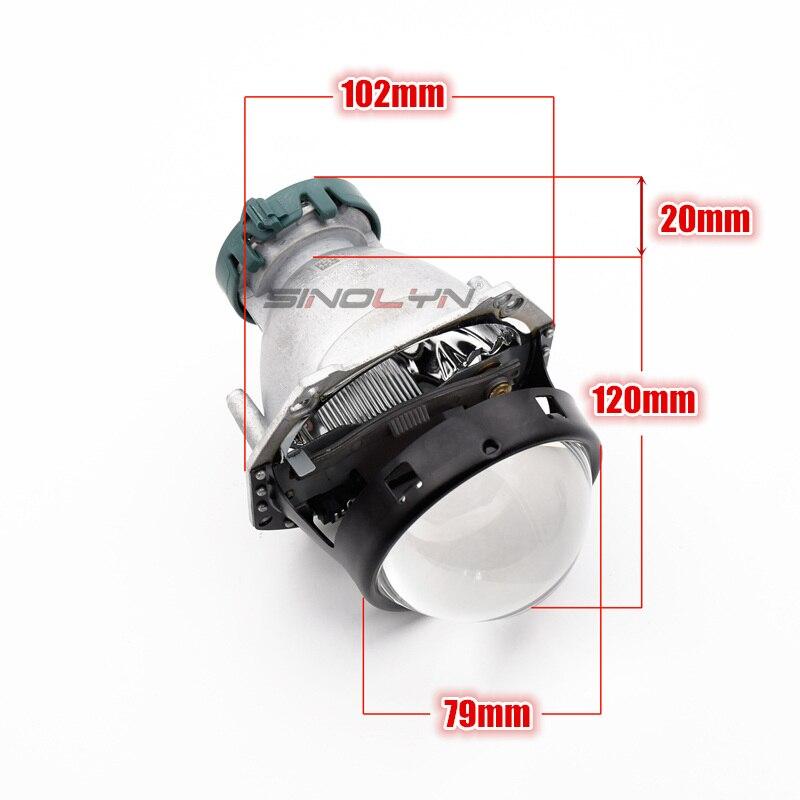 Mise à niveau automatique phare de voiture 3.0 pouces HID bi-xénon pour Hella 3R G5 5 projecteur lentille remplacer phare rénovation bricolage D1S D2S D3S D4S - 4