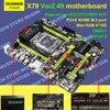 HNan Intel X79 Motherboard ATX X79 LGA 2011 Mainboard LGA2011 Desktop Motherboard USB3 0 DDR3 Quad