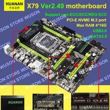 Best seller V2 49 HUANAN X79 font b motherboard b font LGA2011 ATX USB3 0 SATA3