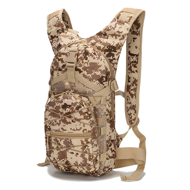 Outdoor Cycling Backpack Sports Bags Women Men Cycling Running Rucksack 3P Tactical Camouflage Oxford Bicycle Backpacks