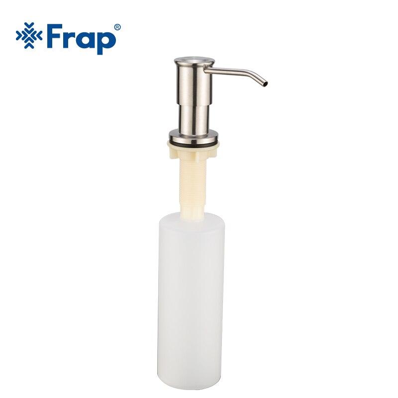 Kitchen Sink Hand Soap Dispenser: Frap Modern Hand Soap Dispenser 304 Stainless Steel