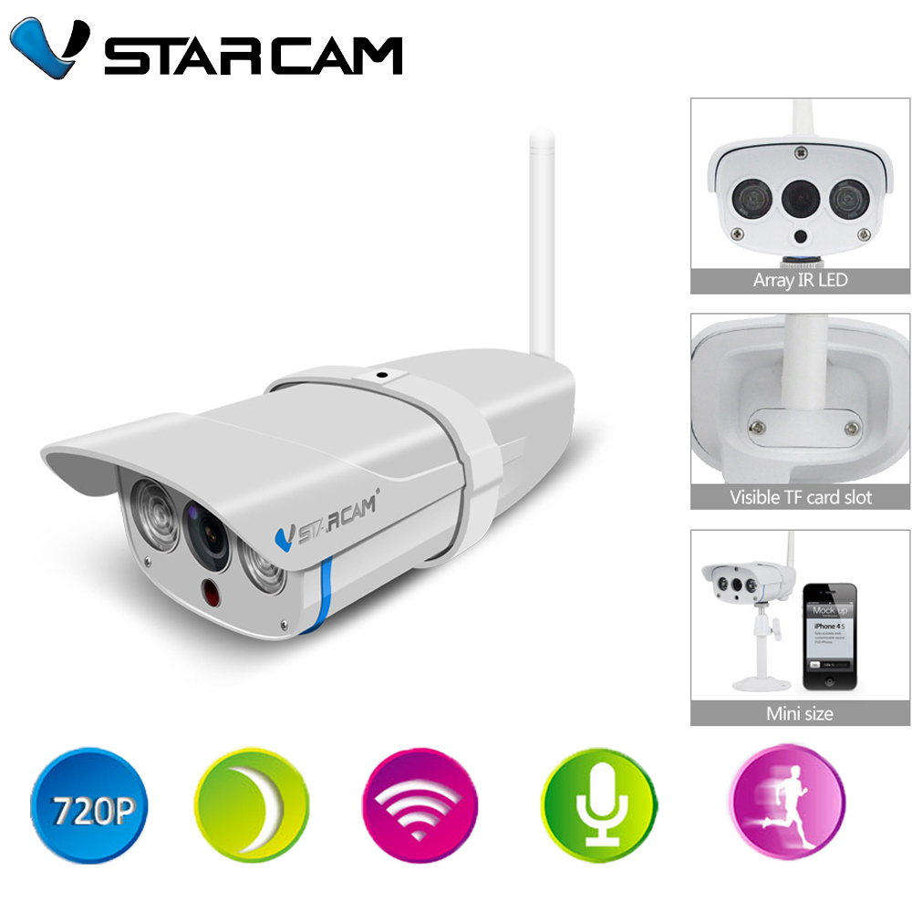 Vstarcam C7816WIP Onvif IP Camera Outdoor 720P Underwaterproof IP67 Network 1 0MP HD Camera Support 64G