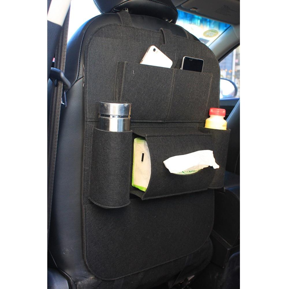 자동 멀티 포켓 뒷자리 수납 가방 카시트 주최자 - 자동차 인테리어 용 액세서리 - 사진 2