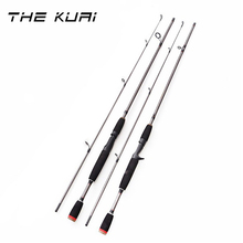 THEKUAI 1.8m 2 Segments fishing rod M Power line wt.6-15lb lure wt.1/8-3/4oz Carbon Spinning Casting Lure Fishing Rod seaknight trulinoya 2 1m 145g two segments plug bait carbon casting hard spinning lure fishing rod