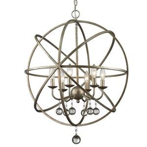 Американский подвесной Ретро светильник в стиле лофт В индустриальном стиле, подвесной светильник с железными шариками для кафе, ресторана...