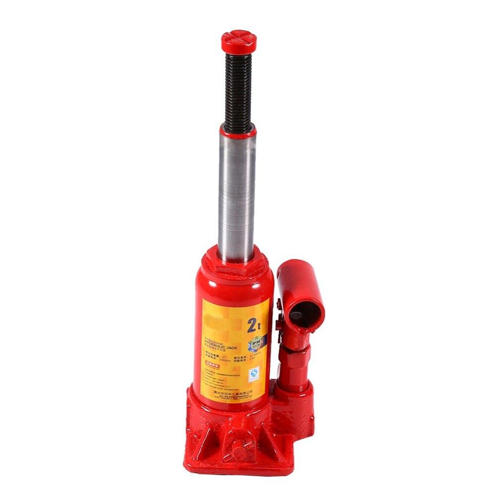2 tonnes/3 tonnes/5 tonnes professionnel en acier hydraulique cric levage voiture SUV outils d'urgence cartouche outils accessoire
