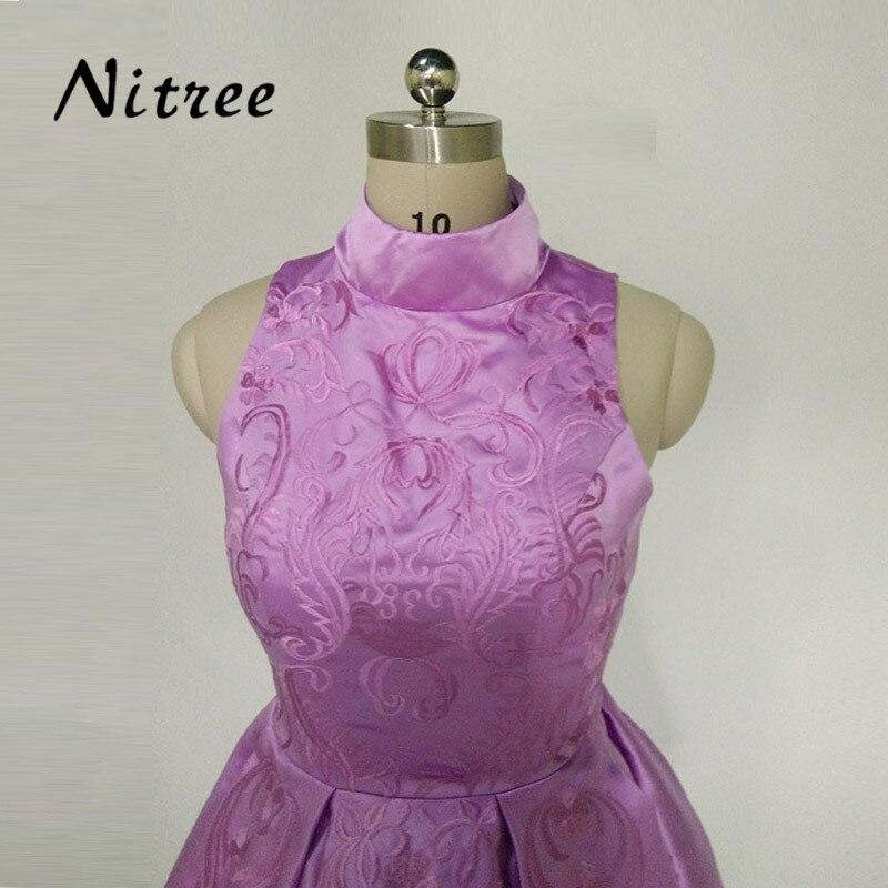 Lavanda Púrpura Corto Vestidos de Baile Vestido de Fiesta Pretty ...