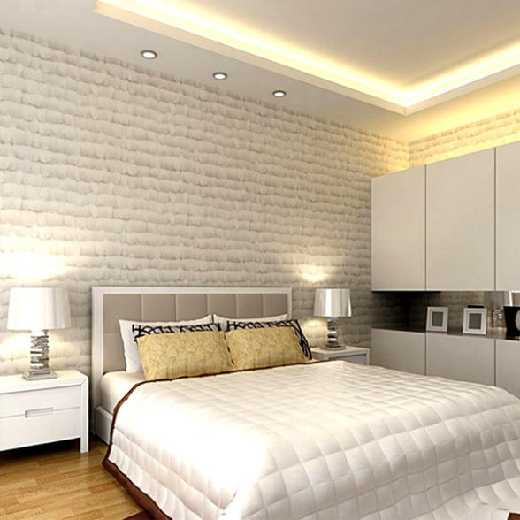 Buy modern and stylish white feathers for Wood wallpaper bedroom