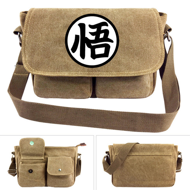 b09ccc4729b3 Dragon Ball Z Son Goku Cross body Bag Men Women Boys Girls Messenger Bags  Canvas Shoulder