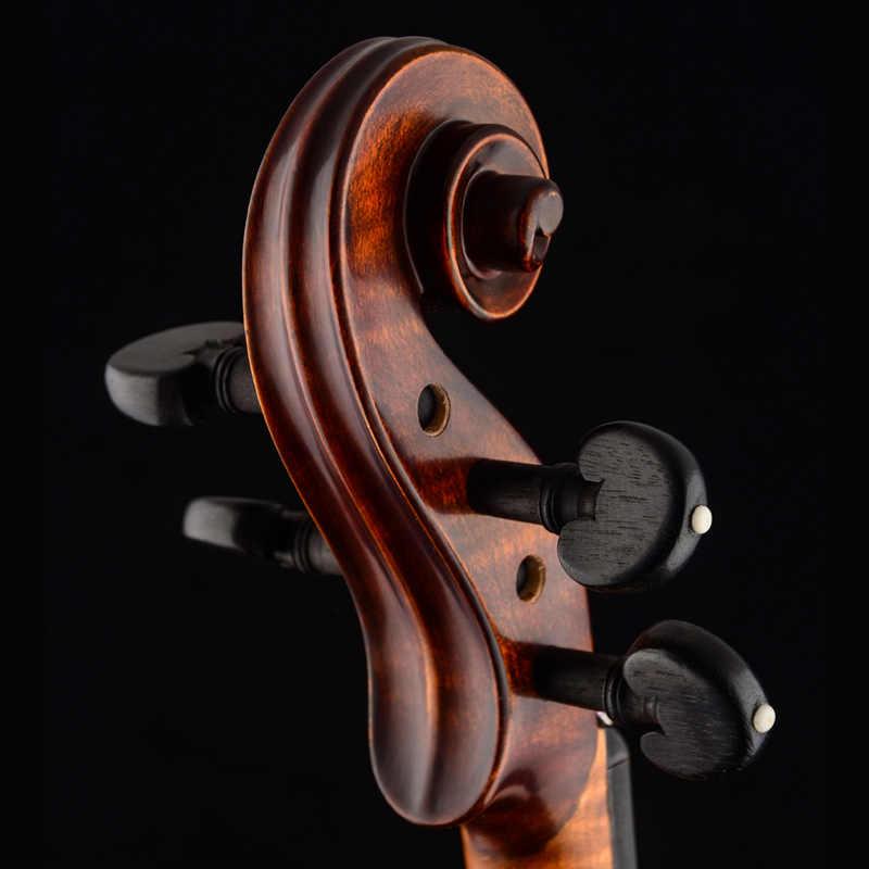 كريستينا EU4000B ماستر الكمان 4/4 صنع في أوروبا القيقب ملتهب المهنية إيطاليا اليدوية الكمان مع كمان حالة القوس الصنوبري