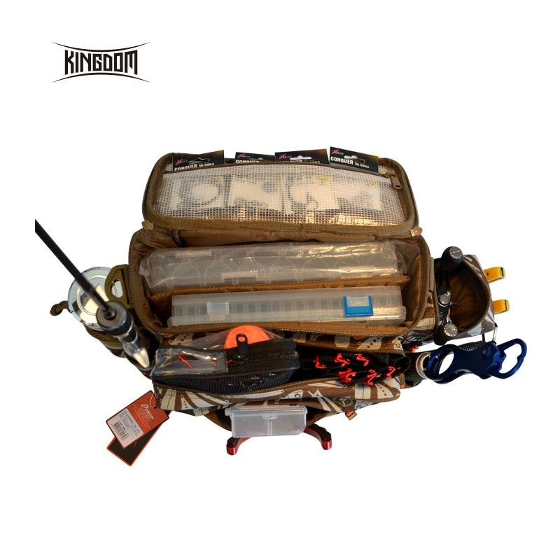 Uni pêche Étanche sac de pêche Multifonctionnel En Plein Air Réglable Face Taille Épaule Sangle De Transport Taille Pack lyb-13 - 3