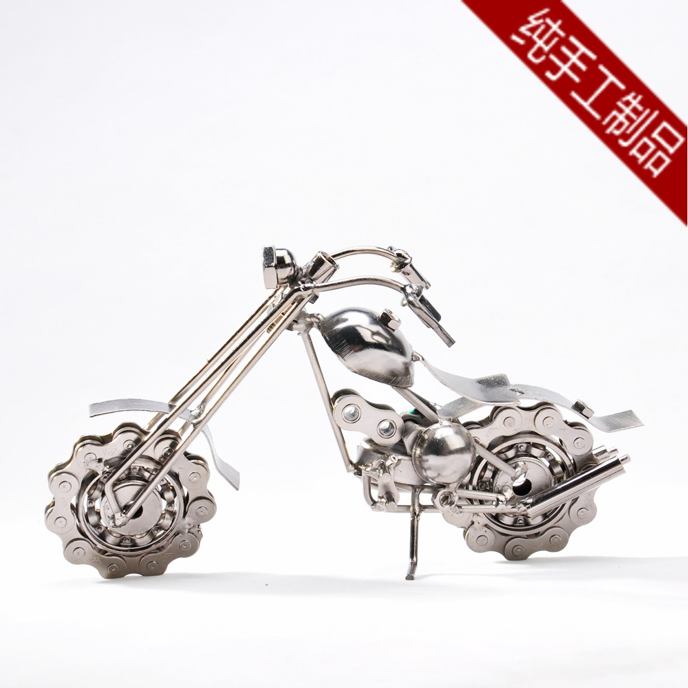 Motorcycle model metal car models gift fashion home decoration birthday giving Christmas - Eastern Perfect Life Store store