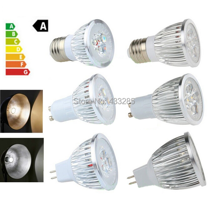 High Power 3W 5W 12V AC85-265V MR16 E27 GU10 EPISTAR LED Spot Light Recessed Bulbs