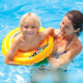 Baby Swim Ring Adjustable Swimming Laps Baby Neck Float Lifebuoy Inflatable Newborn Swimming Accessories