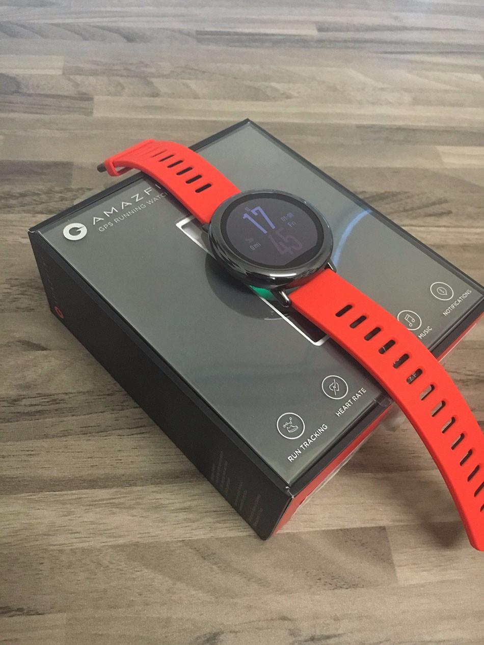 HUAMI AMAZFIT SPORTS SMART WATCH BLUETOOTH WIFI DUAL CORE GPS HEART RATE MONITOR 213432 14