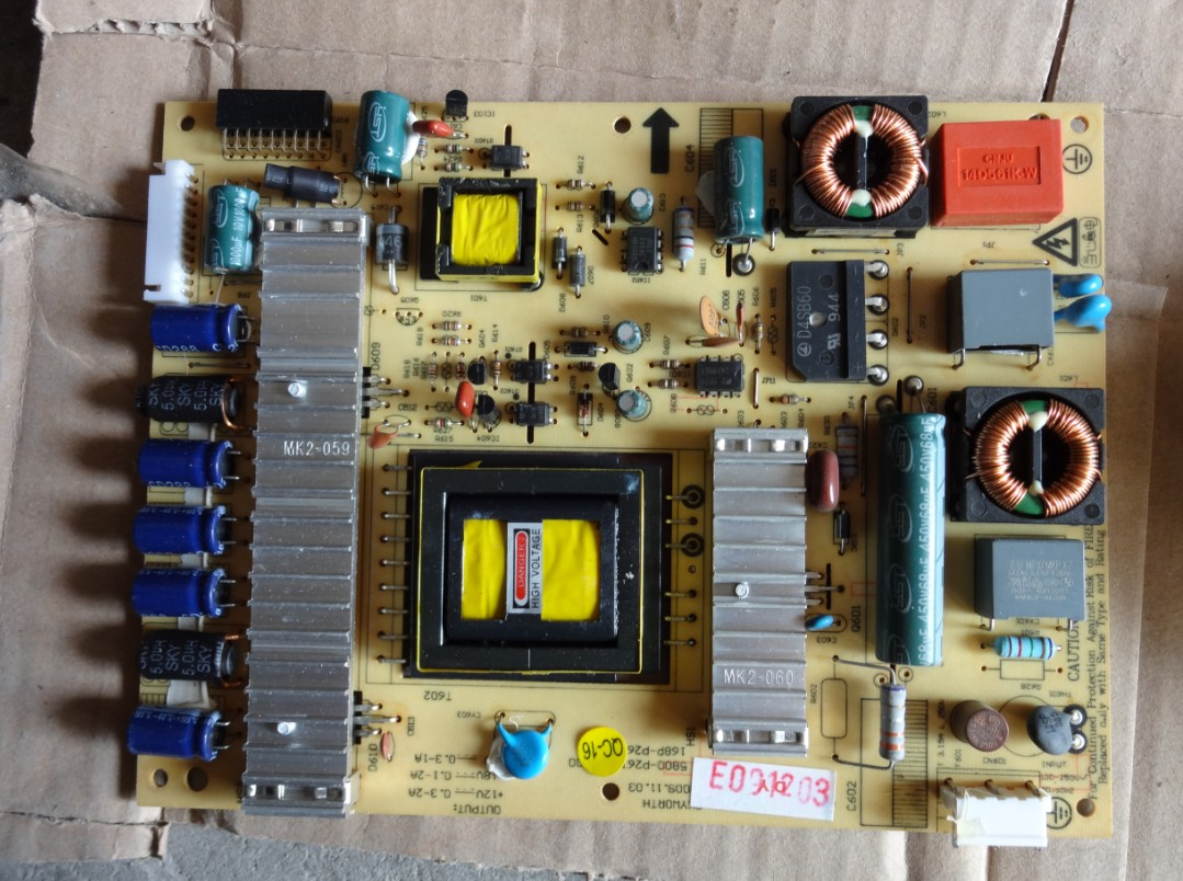 ФОТО Free Shipping>Original 100% Tested Working   LED26E60HR power supply board 168P-P26TWU-00 5800-P26TWU-0000