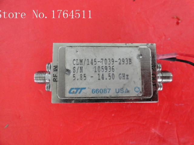 [BELLA] CTT CLM/145-7039-293B 5.85-14.5GHz SMA 15V Supply Amplifier