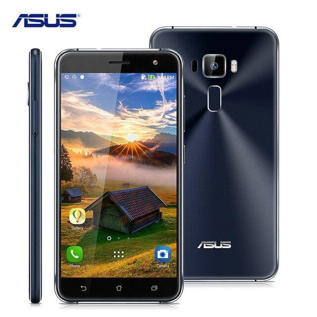 Asus Zenfone 3 ZE552KL Qualcomm Octa-Core 2.0 ГГц Сотовые Телефоны 5.5 7-дюймовый Android 6.0 4 ГБ RAM 64 ГБ ROM 16.0MP 4 Г Мобильный Телефон