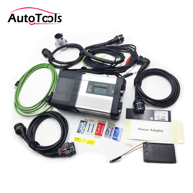 V2019.3 MB star SD Connect Compact C5 Star Diagnosis WIFI support for Cars and Trucks with Multi-Langauge car diagnostic tool