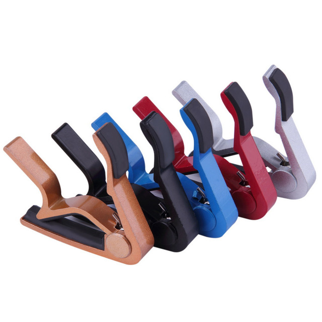 New Arrival Guitar Jaw Capo Clamp for Electric and Acoustic Tuba Guitar Trigger Release free shipping