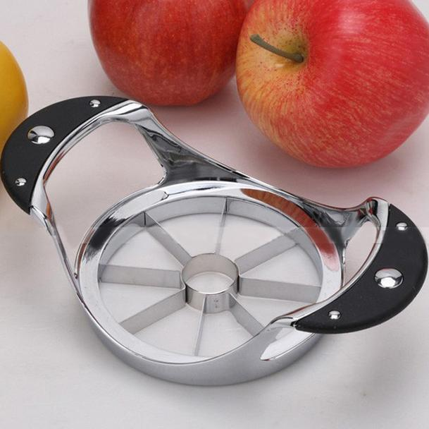 high quality stainless steel Apple slicer Fruit Knife Cutter for Apple Pear shredders slicers Free Shipping