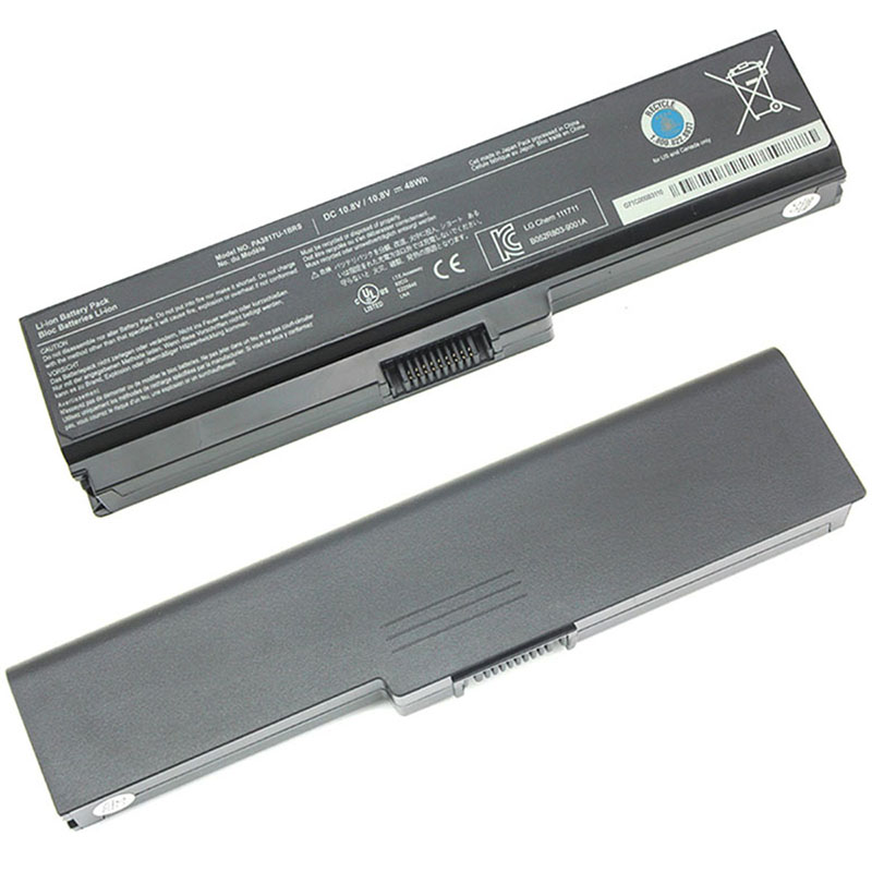 BATTERIA per Toshiba Satellite C670-15F C670-165 L745D-S4350 Laptop 4400mAh