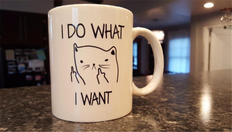 Cat Ceramic Coffee Mug