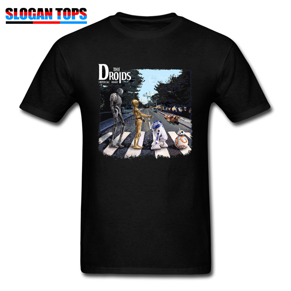 3D T-shirt Men Tshirt Star Wars Droids R2-D2 C-3PO Adventures Star Wars Trilogy T Shirt 80s Movie Fans Tee Robot Tops 1