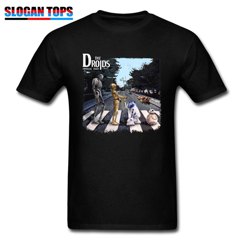 3D   T  -  shirt   2019 Men Tshirt Star Wars Droids R2-D2 C-3PO Adventures Star Wars Trilogy   T     Shirt   80s Movie Fans Tee Robot Tops
