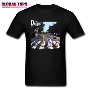3D T-shirt 2019 Men Tshirt Star Wars Droids R2-D2 C-3PO Adventures Star Wars Trilogy T Shirt 80s Movie Fans Tee Robot Tops