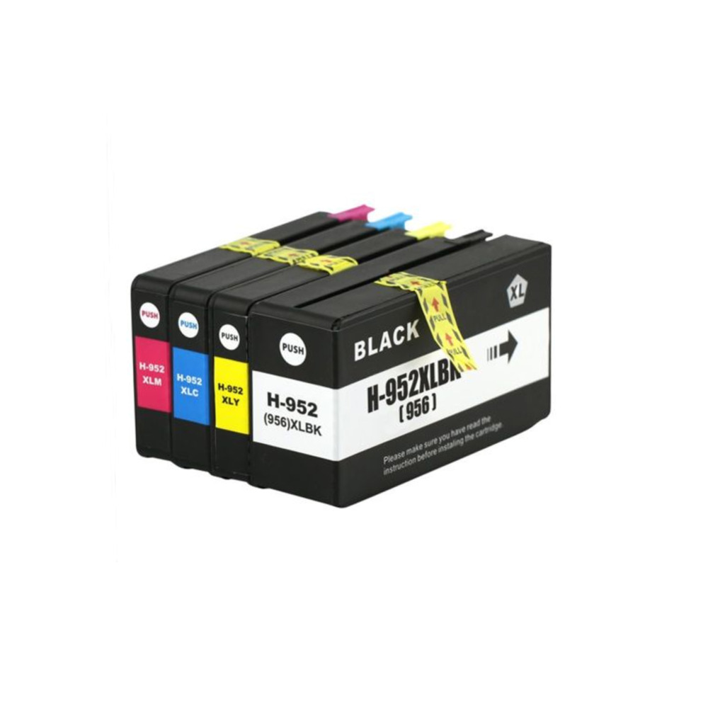 HTL Compatible Ink Cartridge 952 952XL  For HP952XL HP956 for HP Officejet Pro 8710 8720 8724 8746 8747 8210 8200 8744 4pk compatible hp955xl hp959xl ink cartridge for hp officejet pro 8210 8710 8720 8730 printer