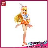 PrettyAngel Genuine Bandai Tamashii Nations S.H. Figuarts Exclusive Sailor Moon SuperS Super Sailor Venus Action Figure