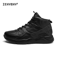 Zenvbnv Comfortable Basketball Shoes For Men High Top Air Sports Cushion Male Sneakers Leather Trainers Basket Big Size 39-46 boussac basketball shoes for men 2018 new high top sport comfort air cushion sneakers trainers basket homme zapatillas red