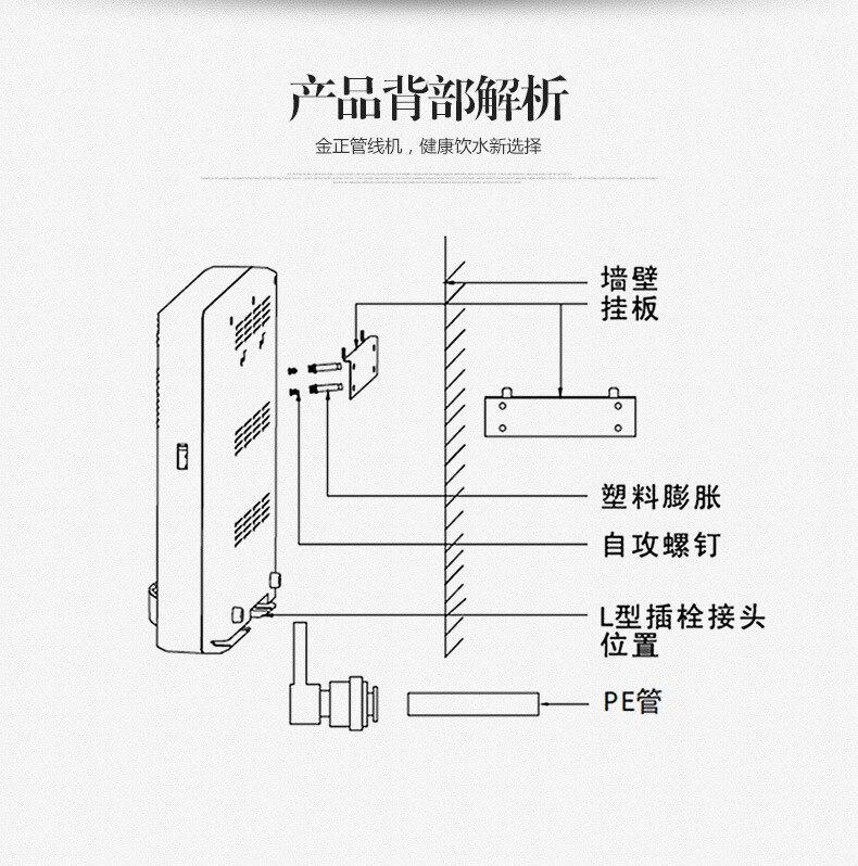 refrigerar de água e máquina de aquecimento