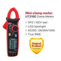 UNI-T UT210E Clamp Meter Pinza Amperimetrica VFC Strumenti Elettrici DC/AC di Corrente Tester di Tensione Gamma Auto Multimetro